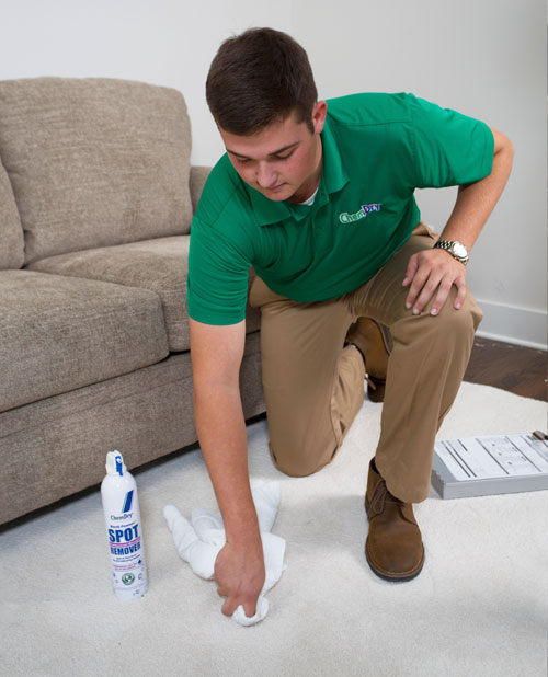 A & B Chem-Dry's trained technicians will provide quality specialty stain removal services to get your carpet looking like new again